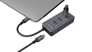 Adam Elements CASA Hub PDC Grey 6-in-1 USB PD Combo Charger
