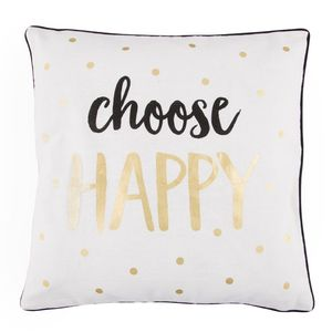 Choose Happy Metallic