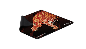 Steelseries Qck+ Limited Howl Edition Black,Red,Yellow Gaming Mouse Pad