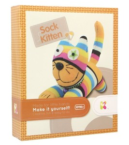Make your own sock kitten
