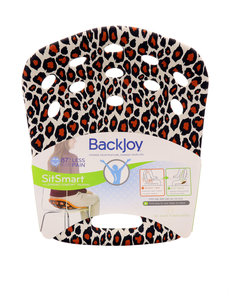 Backjoy Sitsmart Posture+ Leopard/Bk Large