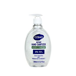 Cosmo Instant Hand Sanitizer Gel 500Ml