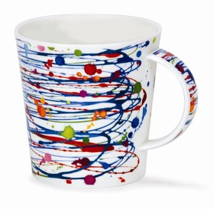 Dunoon Cairngorm Mug Drizzle Blue