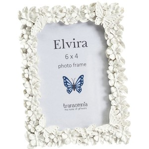 Elvira butterfly and flowers 6x4 photo frame
