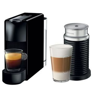 Nespresso Essenza Mini Black And Aeroccino3