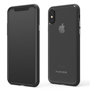 Slim Shell Clear Black Iphone X