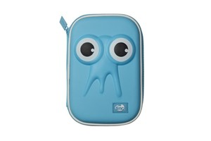 Tonkin Single Decker Pencil Case Blue
