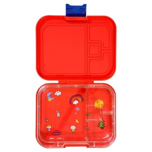 Tw Bento Box Red 4 Compartments