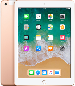 Ipad 9.7-Inch 128Gb Wi-Fi + Cellular Gold