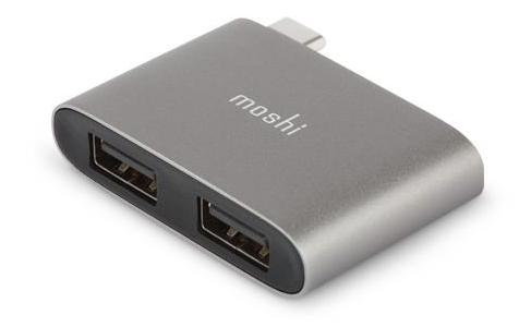 MOSHI 99MO084214 INTERFACE HUB USB 3.0 3.1 GEN 1 TYPE-C 5000 MBIT/S GREY