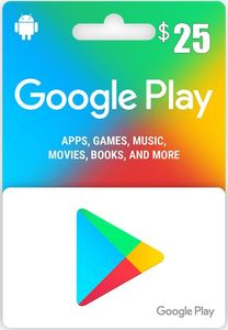 Google Play 25 Us Store