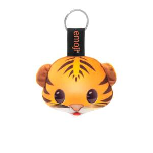 Emoji Tiger Official Orange Keychain