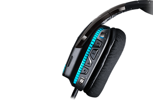 Logitech G G633 Binaural Head-Band Black,Blue