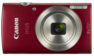 Canon Digital Ixus 185 Compact Camera 20Mp 1/2.3 Inch Ccd 5152 X 3864Pixels Red