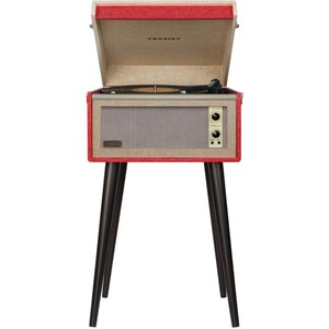 Crosely Dansette Bermuda Red Turntable with Bluetooth and Pitch Control