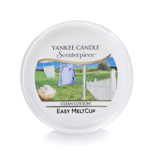 Yankee Candle Scenterpiece Meltcup Clean Cotton