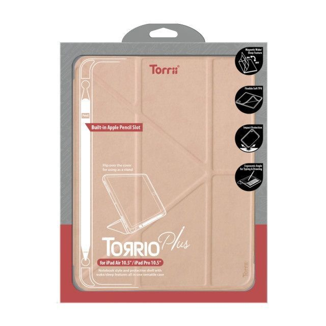 Torrio Plus For 2018 New Ipad Air 10.5 Pink
