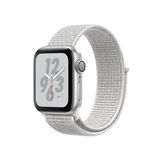 Apple Watch Nike+ Series 4 Gps 40Mm Silver Aluminium Case With Summit White Nike Sport Loop