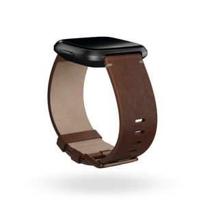 Fitbit Leather Band Cognac Large for Versa