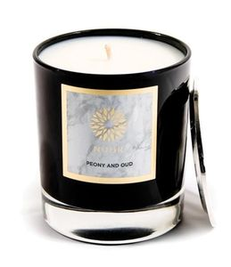 Scented Deluxe Candle Peony & Oud
