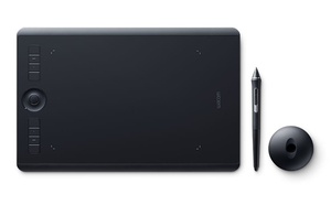 Wacom Intuos Pro 5080lpi 224 x 148mm USB/Bluetooth Graphic Tablet
