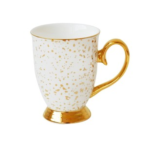 Doolittle Splatter Mug Gold