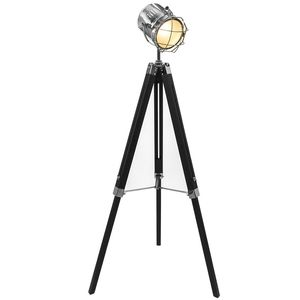 Hollywood Tripod Fl Lamp Black