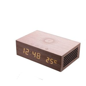 Homtiem m9qi wooden bluetooth speaker wi