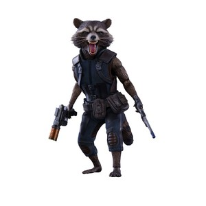 Rocket Regular Gotg Vol 2 mms Sixth Scale Figure
