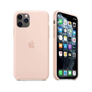 Iphone 11Pro Silicone Case Pink Sand