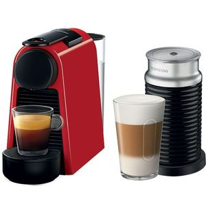 Nespresso Essenza Mini Red And Aeroccino3