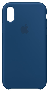 Apple Mtf92Zm/A 5.8 Inch Skin Case Blue Mobile Phone Case