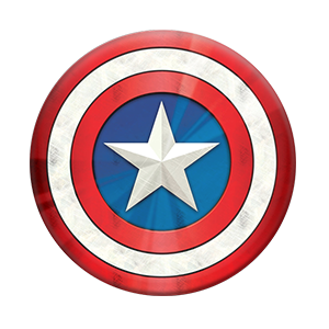 Popsockets Captain America Shield Icon Stand & Grip for Smartphones