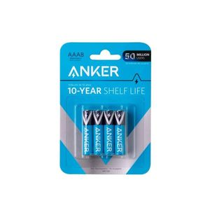 Anker Aaa Alkaline Batteries 8Pack Black