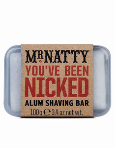 Mr Natty You've Been Nicked Alum Shaving Bar 100grm