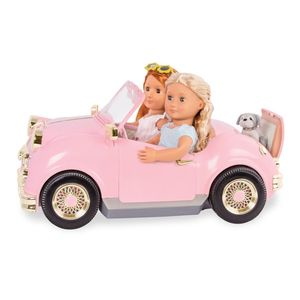 Retro Car For 18 Doll