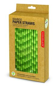 Paper straws bamboo box of 144