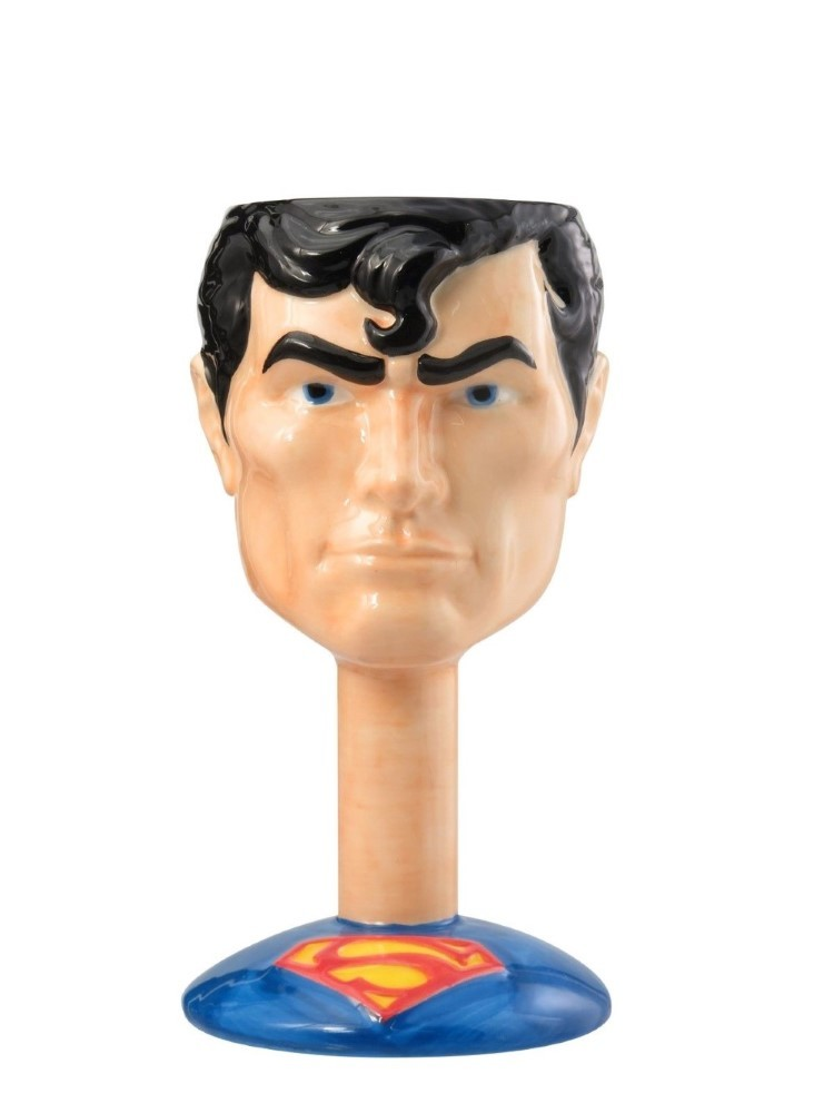 Monogram Superman Ceramic Goblet 300ml