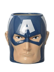Monogram Captain America Hero Mug 300ml