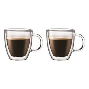 Bodum Bistro Double Wall Mug 0.14L [Set of 2]