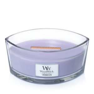 Woodwick Ellipse Jar Lavender Spa Violet Candle L