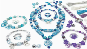 Beaded Jewelry Set Frozen