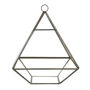Black Pyramid Shaped Terrarium
