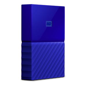 WESTERN DIGITAL MY PASSPORT 4000GB BLUE EXTERNAL HARD DRIVE