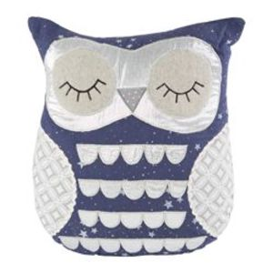 Lucas Sleepy Owl Cushion With