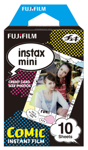 Fujifilm P10Gm51211A 10Pc(S) 54 X 86mm Instant Picture Film