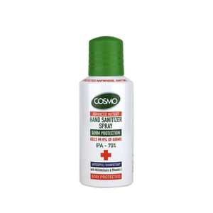 Cosmo Instant Spray Hand Sanitizer Spray 150Ml