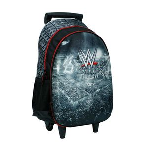 Wwe The Ring 18 Hard Molded Large Roller Backpack With 2 Compartments & 2 Side Pockets
