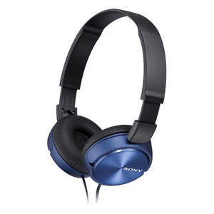 Sony MDR-ZX310 Blue On Ear Headphones