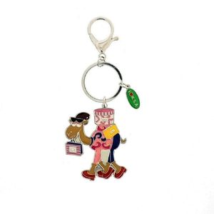 Shopping Camel Keychain